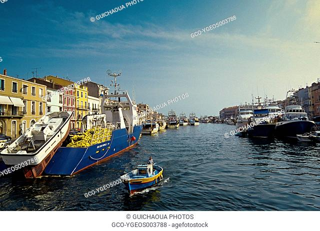 Sete's Habour, Herault, Languedoc-Roussillon, France