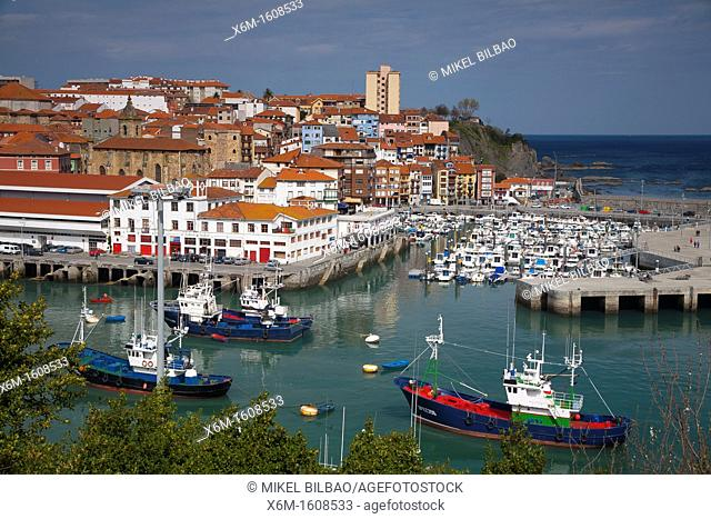 Village view  Bermeo, Biscay, Basque Country  Spain