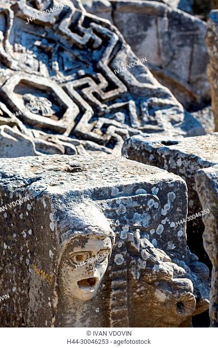 Ruins of ancient Ephesus, Selcuk, Izmir Province, Turkey
