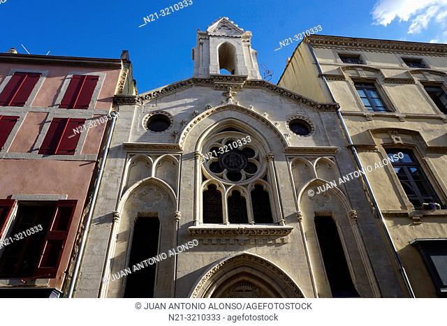 Chapelle des Dominicaines. Carcassonne. Languedoc-Roussillon, France, Europe
