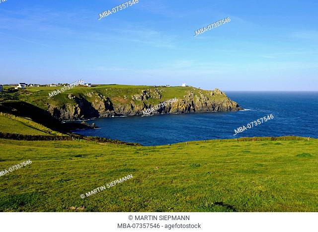 Housel Cove, Lizard Point, Lizard Peninsula, Cornwall, England, UK