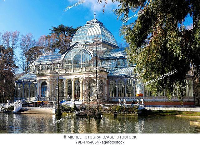 Palacio de Cristal (Crystal Palace), Parque del Buen Retiro, Madrid, Spain