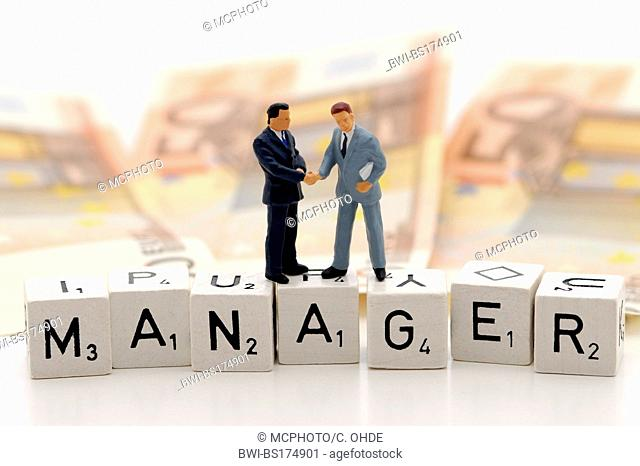 managerial salaries, symbol picture