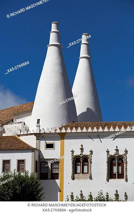 National Palace of Sintra, Sintra, UNESCO World Heritage Site, Portugal