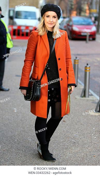 Helen Skelton outside ITV Studios Featuring: Helen Skelton Where: London, United Kingdom When: 30 Nov 2017 Credit: Rocky/WENN.com