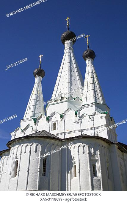 Church of the Dormition of the Theotokos, Alexey Monastery, Uglich, Golden Ring, Yaroslavl Oblast, Russia