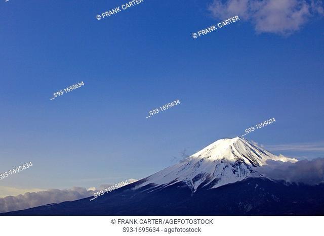 A view of Mt  Fuji at sunrise