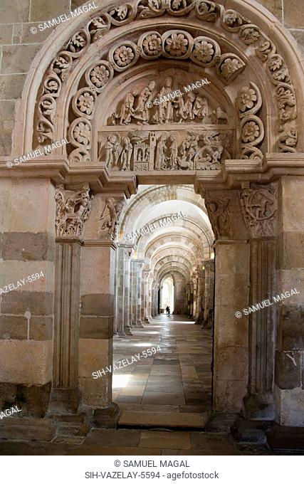 The Abbey was built between the end of the 11th Century and the end of the 12th Century. The portal's tympanum tells in detail the infancy of Jesus