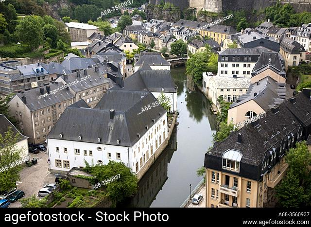 The old town in Luxembourg. Photo: André Maslennikov