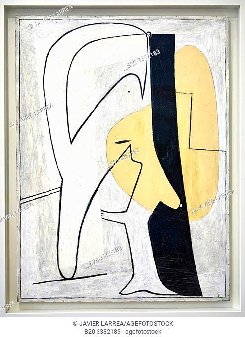 """Figure"", 1927, Pablo Picasso, Picasso Museum, Paris, France, Europe"
