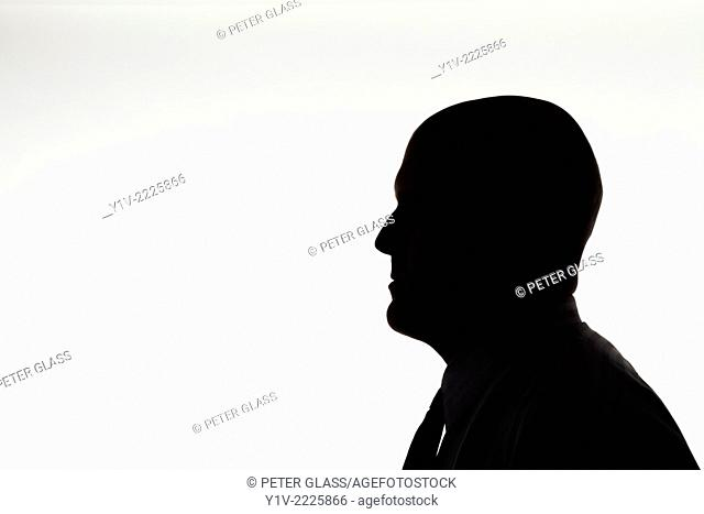 Middle-age bald man