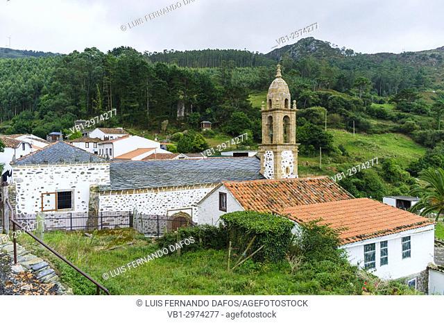 San Andres de Teixido a very important pilgrimage place for Galician people. Cedeira, Coruna province, Galicia, Spain, Europe