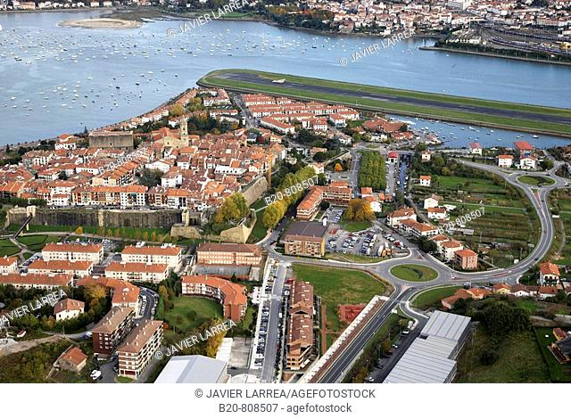 Hondarribia, Bay of Txingudi, Guipuzcoa, Basque Country, Spain