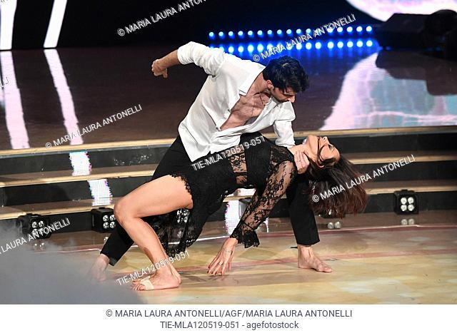Nunzia De Girolamo during the performance at the tv show Ballando con le setelle (Dancing with the stars) Rome, ITALY-11-05-2019