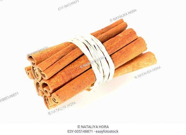 tied bunch of cinnamon