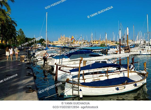 Palma, Island Of Majorca, Balearic, Spain