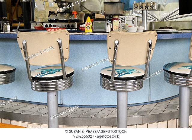 Hoagie's Diner, Pocasset, Bourne, Massachusetts, United States, North America