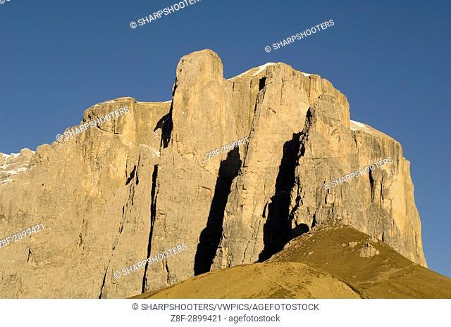 Italy, Trentino - Alto Adige, Bolzano province, Dolomites, Val Gardena, Sella group