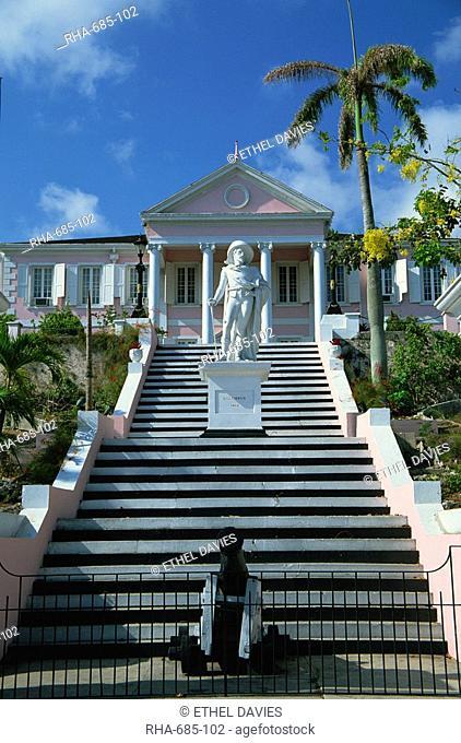 Government House, Nassau, Bahamas, Central America