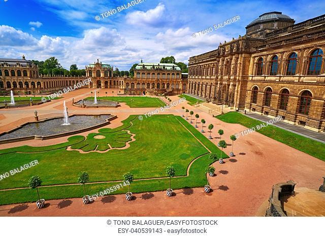 Dresden Zwinger in Saxony of Germany