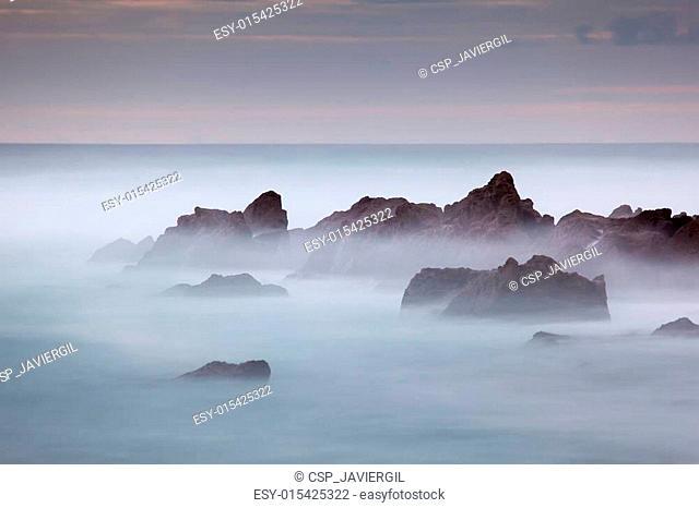 Beach of Azkorri, Getxo, Bizkaia, Basque Country, Spain