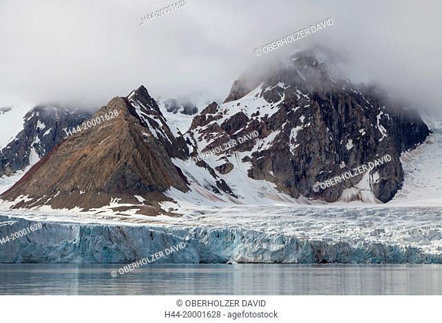 Spitsbergen, Svalbard, glacier, Hornsund