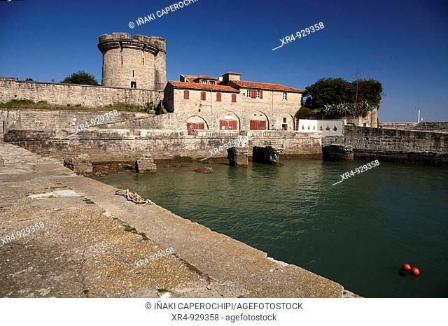 Fort of Sokoa (17th century), Ciboure, Pyrenees-Atlantiques, Aquitaine, France