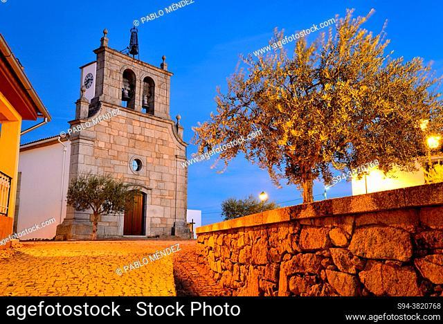 Church of Sao Pedro de Bemposta, Mogadouro, Portugal