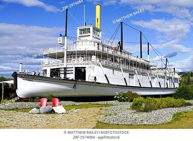 The largest sternwheeler to ply the upper Yukon river