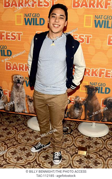 Andre Millan of Pet Talk attends Nat Geo WILD 2nd Annual Barkfest at Palihouse Hotel on April 9, 2016 in West Hollywood, California