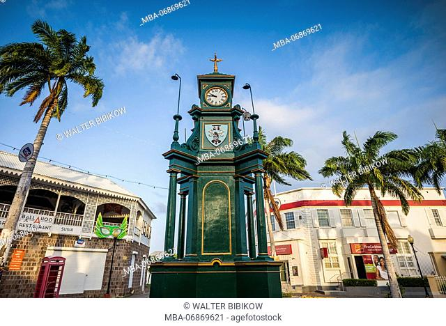 St. Kitts and Nevis, St. Kitts, Basseterre, The Circus Clocktower