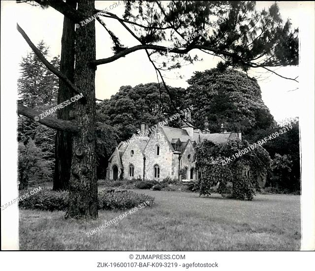 1972 - A roof of Englands history is leased by an American; Magna Carta Island and its old house taken over by Miss Alberto Bigelon; American authorities