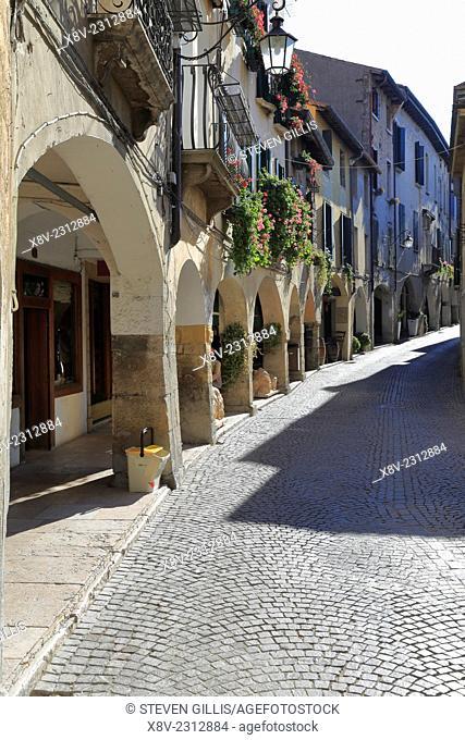 Asolo, Via Browning Street, Italy, Veneto