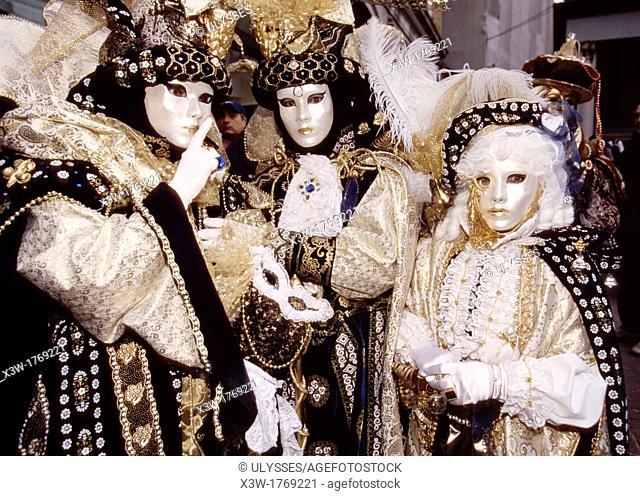 carnival, venice, veneto, italy, europe