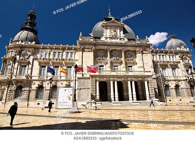 Palacio Consistorial de Cartagena. Región de Murcia. España. Europa