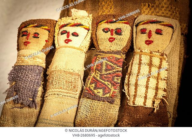 Peruvian Andes dolls. Perú. South America