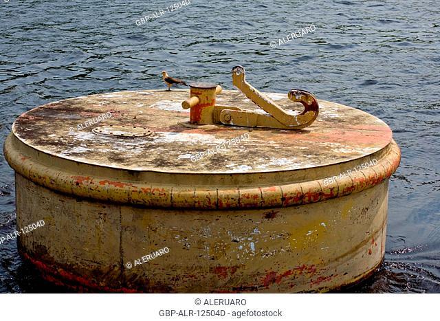Buoy of Identification of Channel, Amazônia, Manaus, Amazonas, Brazil