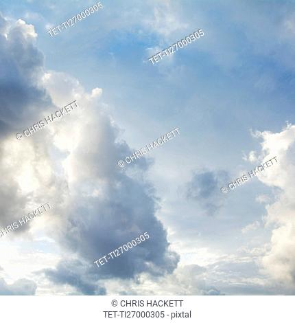 Clouds in sky