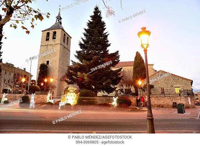 Church of Our Lady of Asuncion, Galapagar, Madrid, Spain