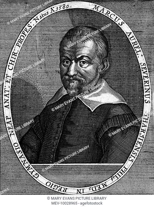 Marcus Aurelius Severino (1580 - 1656) - Italian medical, of Napoli