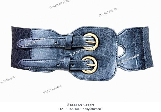 Feminine leather belt