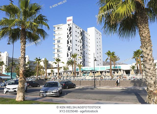 Torremolinos, Costa del Sol, Malaga Province, Andalusia, southern Spain. The 4-star ClubHotel RIU Costa del Sol on Playamar beach