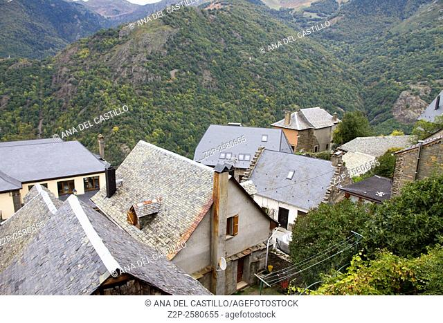 Arseguell village Aran valley, Lleida Catalonia Spain