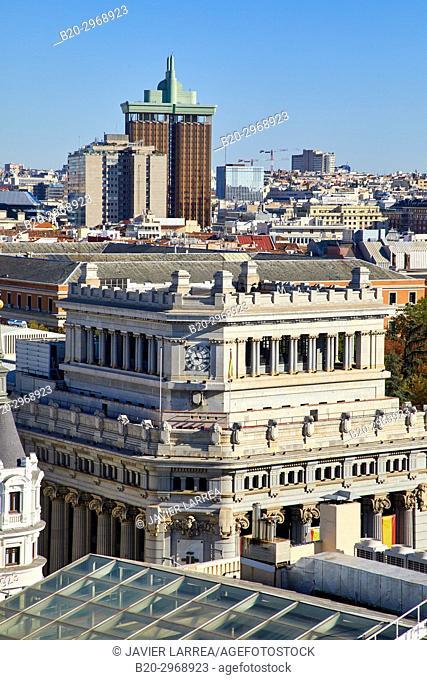 Instituto Cervantes, Torres de Colón, Madrid, Spain, Europe