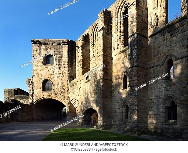 Gatehouse at Dunfermline Abbey and Palace Dunfermline Fife Scotland