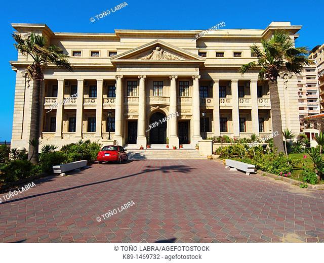 Cornishe, Alexandria, Egypt