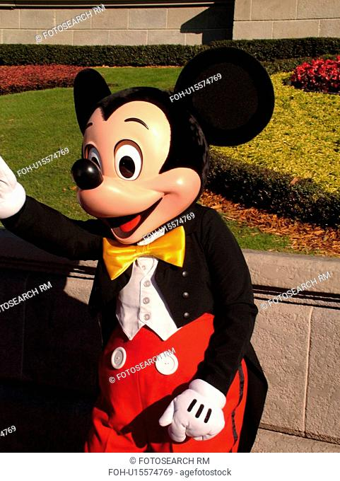 Orlando, FL, Florida, Walt Disney World Resort, Magic Kingdom Park, Mickey Mouse (Editorial Use Only)
