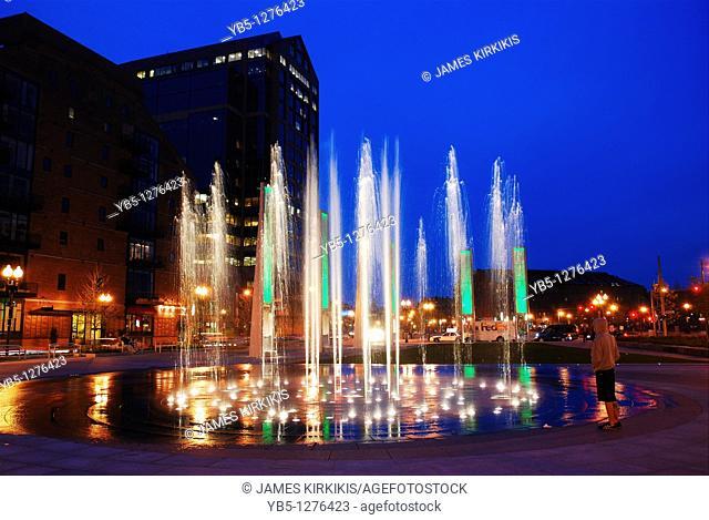 Fountain Rings, Boston, MA