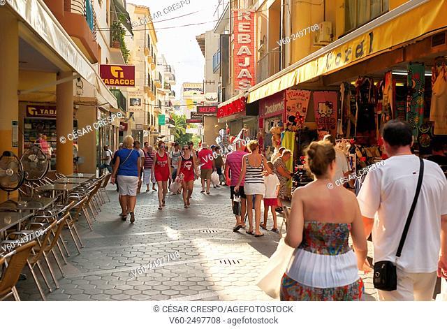 -Benidorm's Streets- Alicante Spain