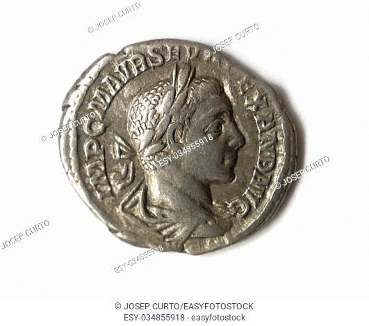 antique roman coin